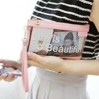 lettering-transparent-pouch