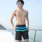 Striped Drawstring Swim Shorts 1596