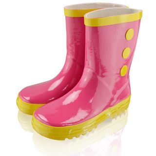 Image of Kids Contrast Trim Mid-Calf Boots