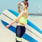 Set : Frilled Bikini Top + Water Pants 1596