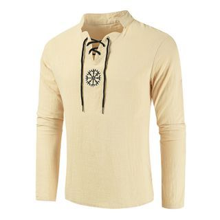 Long-sleeve | Embroider | T-Shirt