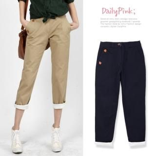 Picture of Daily Pink Cropped Pants 1022293069 (Daily Pink Apparel, Womens Pants, South Korea Apparel)