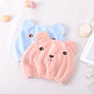 Terry Cloth Bear Hair Cap 1063012403