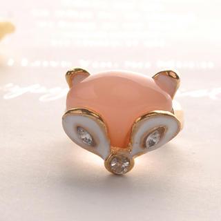 head-of-fox-ring-orange-orange-one-size
