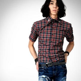 Picture of deepstyle Check Shirt 1022588207 (deepstyle, Mens Shirts, Korea)