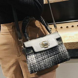 Plaid Crossbody Bag