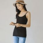 Ribbed Slim-Fit Camisole Top 1596