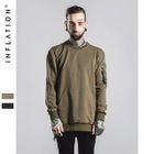 Zip Detail Sweatshirt 1596