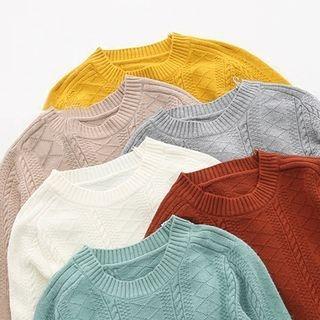 Rib Knit Pullover 1062512322