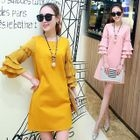 Tiered Bell-Sleeve Dress 1596
