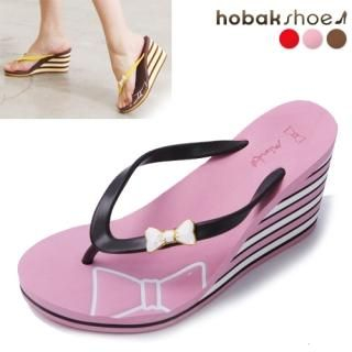 Buy HOBAK girls Platform Wedge Flip Flops 1022838291