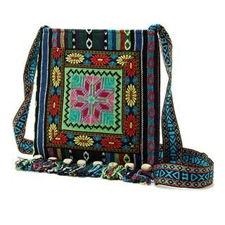 Buy Smoothie Embroidered Ethnic Messenger Bag 1022996375