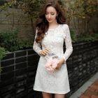 Lace A-Line Dress 1596