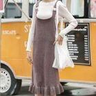 Set: Knit Pullover + Knitted Jumper Dress 1596