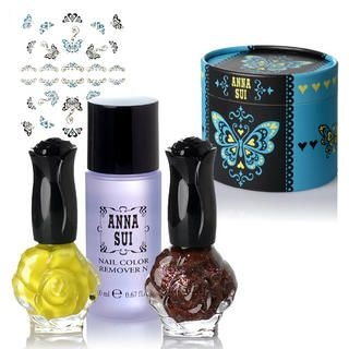 Buy Anna Sui – Nail Color Collection 2010 (02) 3 items + box