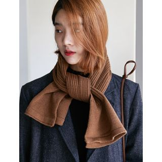 Ribbed Knit Scarf 1053892395