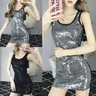 Sequined Tank Dress 1596