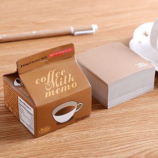 Milk Box Memo Pad 1051159473
