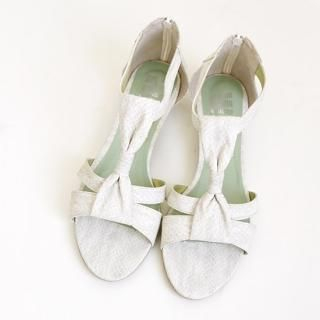 Buy Youareagirl Bow Accent Sandals 1022894730