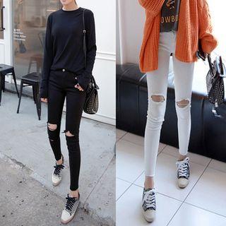 Distressed Skinny Jeans 1061529214