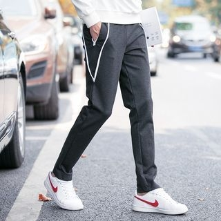 Contrast Trim Sweatpants 1053653938