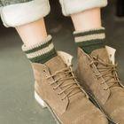 Striped Knit Socks 1596