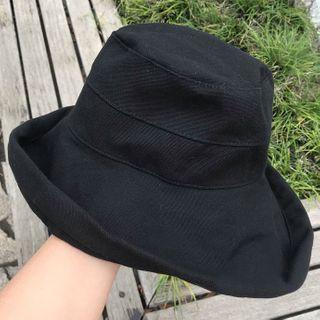 Bucket | Black | Size | Hat | One