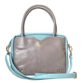 Two-Tone Tote with Strap Light Blue - One Size 1037629895
