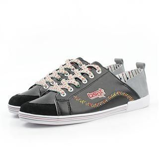 Picture of BSQT Lace-Up Sneakers 1022469060 (Sneakers, BSQT Shoes, Taiwan Shoes, Mens Shoes, Mens Sneakers)