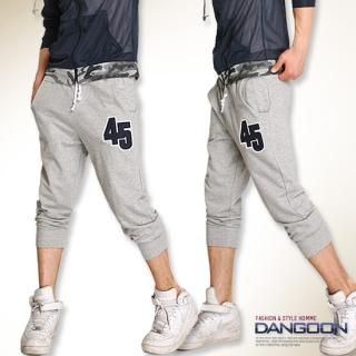 Picture of DANGOON Cropped Sweatpants 1022798786 (DANGOON, Mens Pants, Korea)