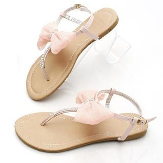 "Buy KAWO Jeweled ""Bow"" Thong Sandals 1022774308"