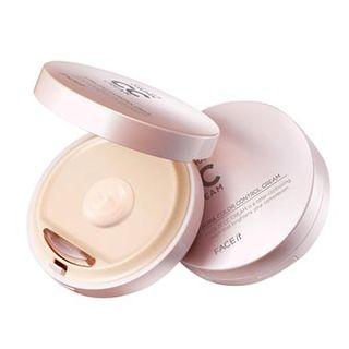 THE FACE SHOP - Face it Aura Color Control Cream (#01) 20g No.1 - Radiant Beige