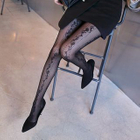 Pattern Sheer Tights 1596