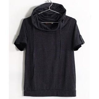 Buy SERUSH Tab-Sleeve Hooded Pullover 1022903473