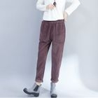 Corduroy Wide Leg Pants 1596