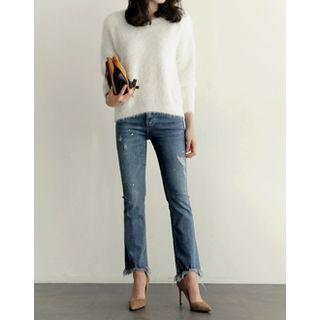 boot cut jeans perfect pantie