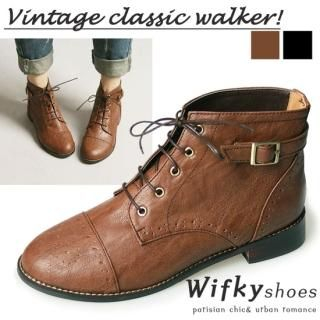 Buy Wifky Lace-Up Boots 1023028421