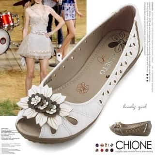 Picture of Chione Open-Toe Sandals 1022955464 (Sandals, Chione Shoes, Korea Shoes, Womens Shoes, Womens Sandals)
