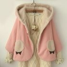 Hooded Cape Jacket 1596