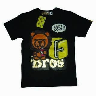 Picture of A Bros Products Baby Lion Drink Coke Tee 1014070178 (A Bros Products, Mens Tees, Hong Kong)