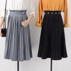 Accordion Pleated A-Line Skirt 1596