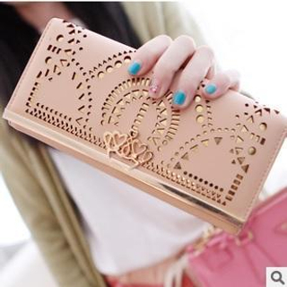 Laser Cut Long Wallet