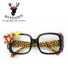 Glasses with Case Black - One Size 1596