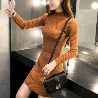 Ribbed Knit Dress 1055913056