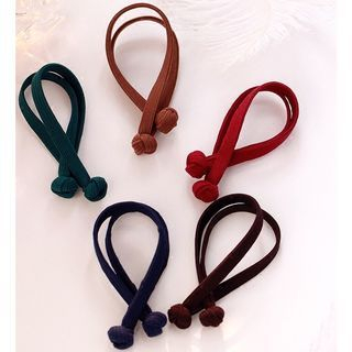 Elastic Bow Hair Tie 1053654352