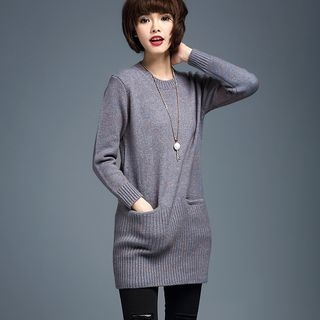Ribbed Knit Dress 1054115231