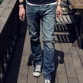Buy MITOSHOP Distressed Jeans 1022825939