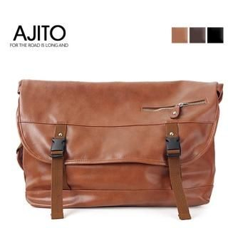 Buy AJITO Faux-Leather Sling Bag 1022977072