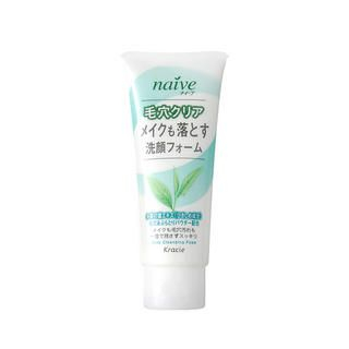 Kracie Naive Deep Cleansing Foam (Green Tea)