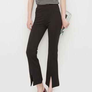 Slit Boot-cut Pants 1051611565